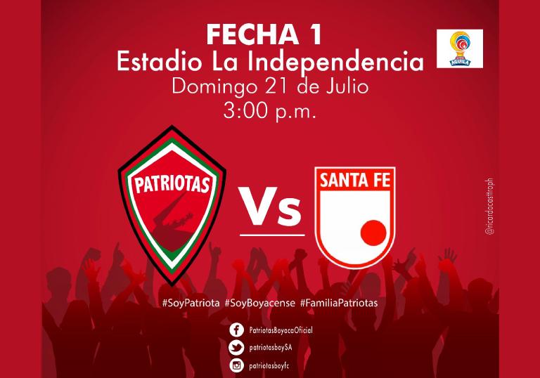 PATRIOTAS VS SANTA FE