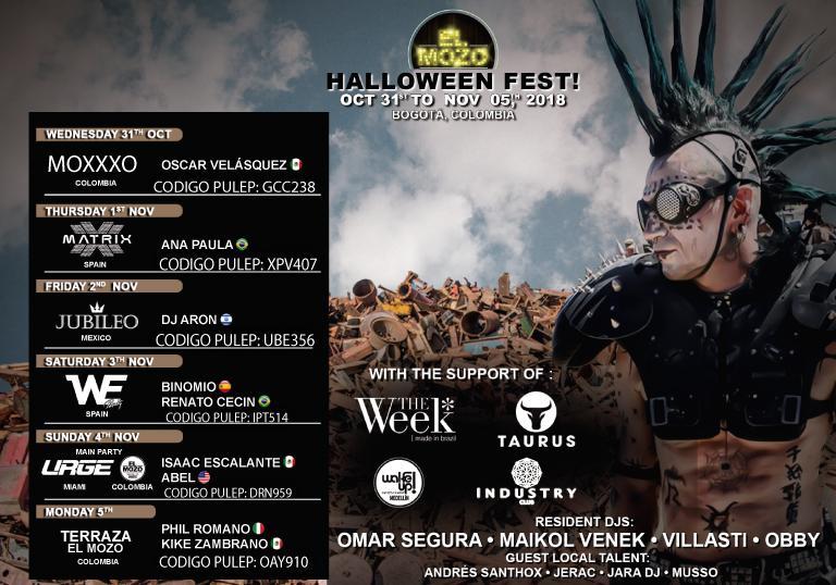 EL MOZO HALLOWEEN FEST 2018