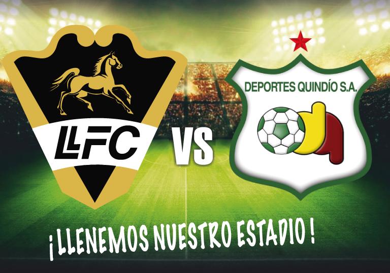 LLANEROS F.C. VS DEPORTES QUINDIO