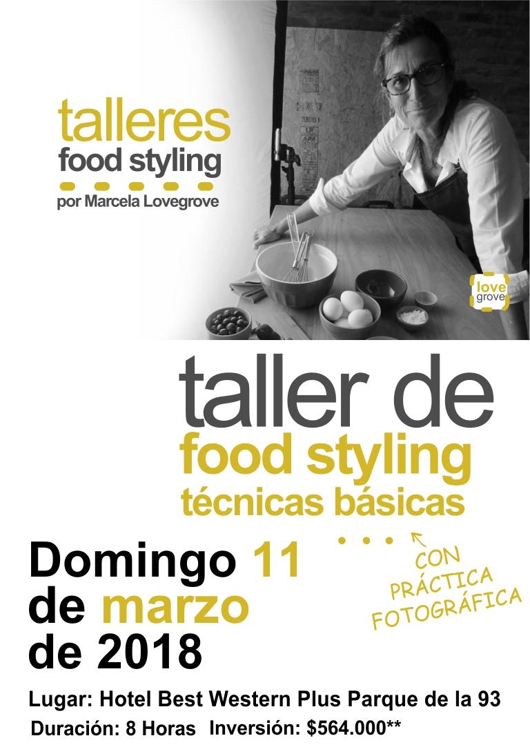 TÉCNICAS BÁSICAS DE FOOD STYLING