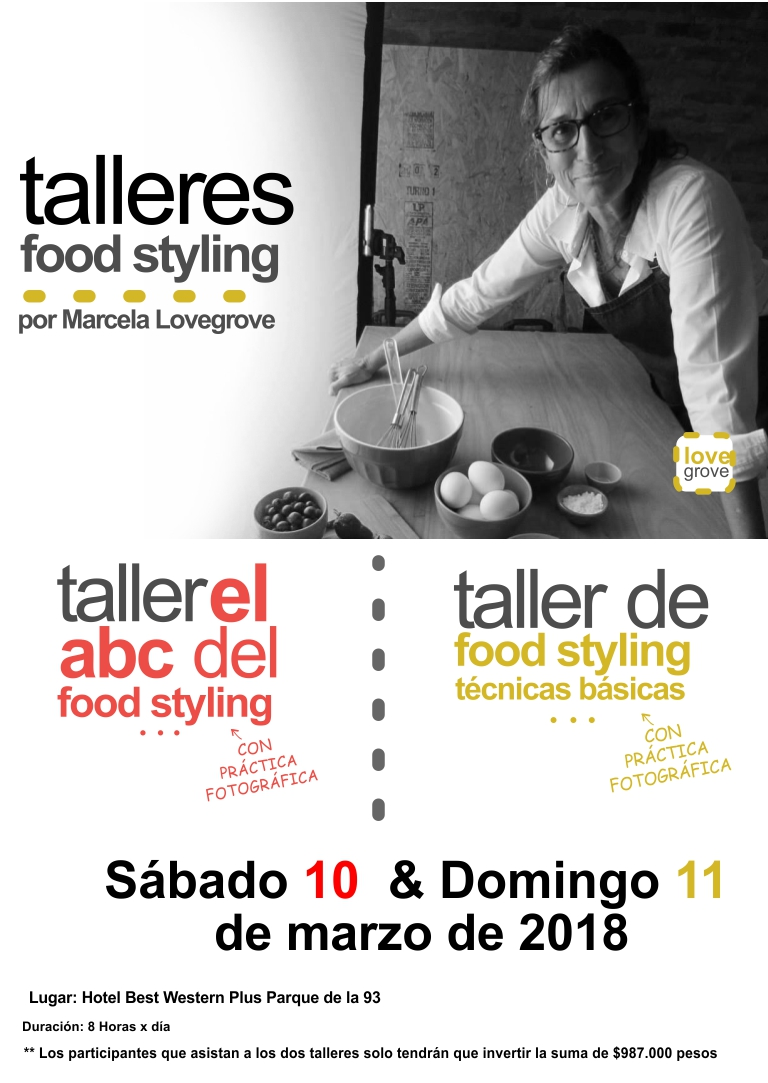 TALLERES FOOD STYLING PACK